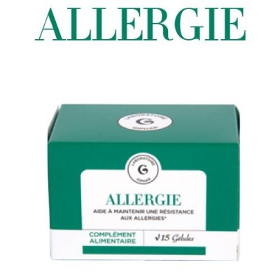 ALLERGIES LABORATOIRE GIPHAR